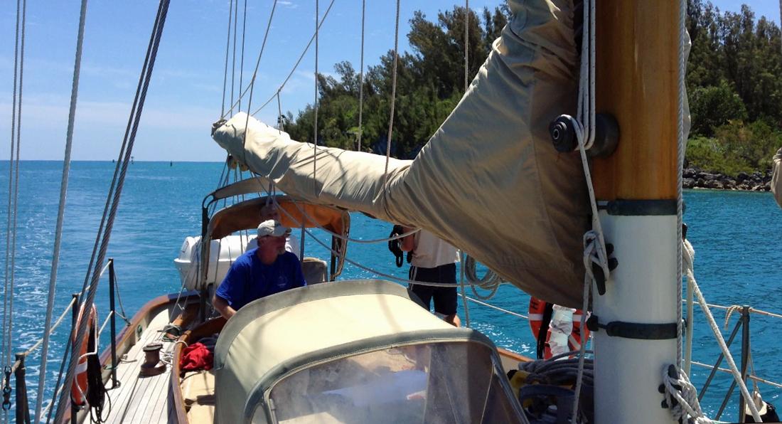 ailing in Town Cut Bermuda