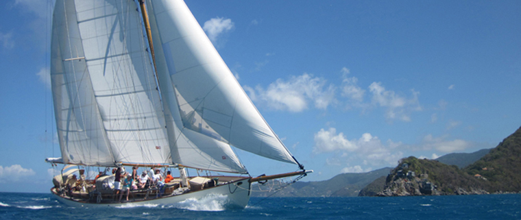 Schooner Heron Day sail and charter in Bequia, St Vincent and the Grenadines.