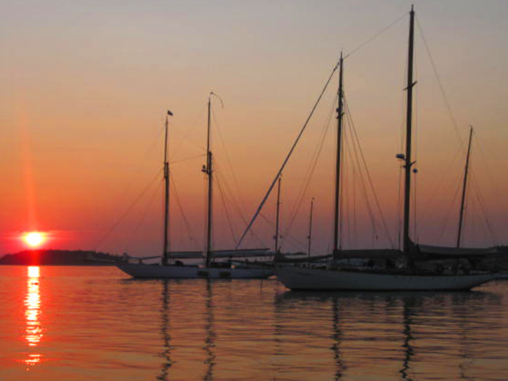 Sail Classic Schooners on Maine's Coast from Rockport Harbor