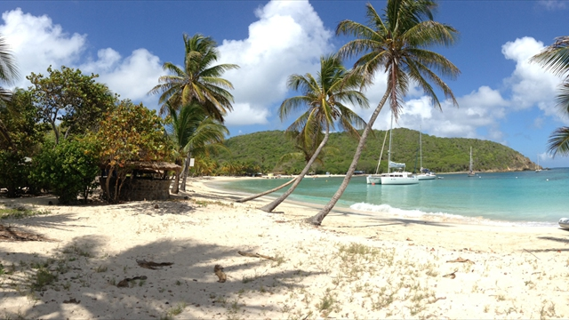 Mayreau's pristine sand beaches